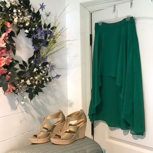 Green Jessica Simpson skirt
